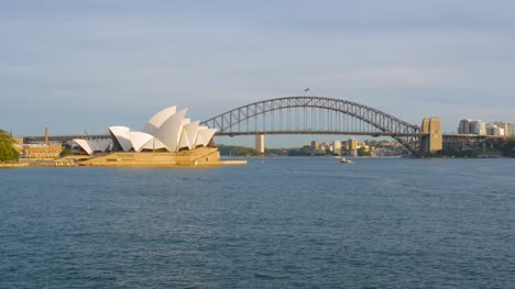 Sunny-Sydney-Harbour-Bridge-and-Opera-House