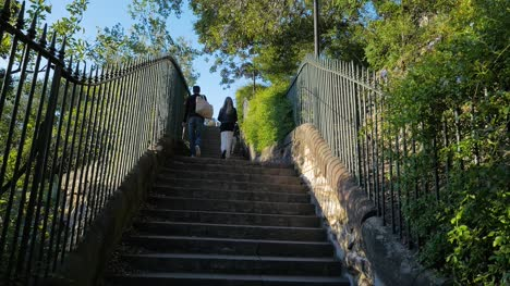 Couple-Walk-up-Steps