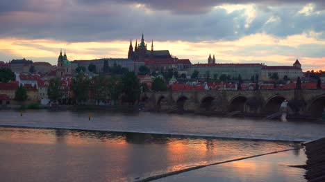 River-Vltava-and-Karlv-Bridge-in-Prague