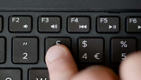 Top-View-Finger-Pressing-3-Button-Keyboard