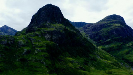 Aerial-Drone-Shot-of-The-Three-Sisters-in-Glen-Coe-Scotland-01