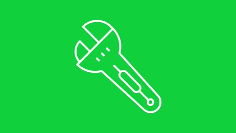 Construction-Green-screen_-wrench