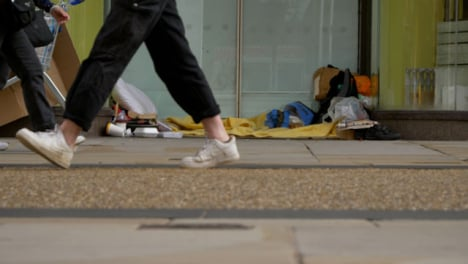 Long-Shot-of-Homeless-Persons-Belongings-In-Doorway-In-Oxford-02