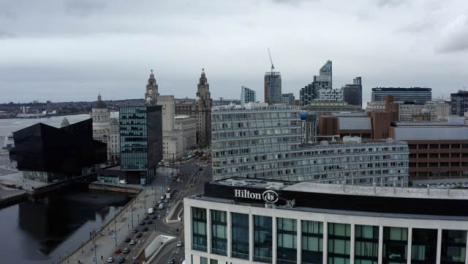 Drone-Shot-Rising-Over-Buildings-In-Liverpool-City-Centre-06