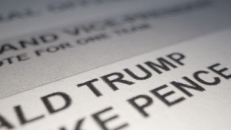 Extreme-Close-Up-of-US-Election-Ballot-Paper-with-Trump-and-Biden