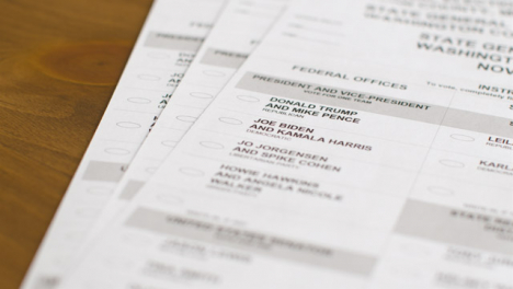 Close-Up-Pan-of-2020-US-Election-Ballot-Paper-with-Trump-and-Biden