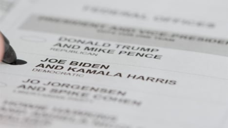 Extreme-Close-Up-of-Vote-for-Joe-Biden-Name-on-Ballot-Paper