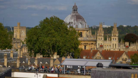 Long-Shot-of-Rooftop-Social-Area-with-Radcliffe-Camera-Building-Behind