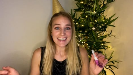 Young-Woman-On-Video-Call-Countdown-to-New-Year-and-Celebrating
