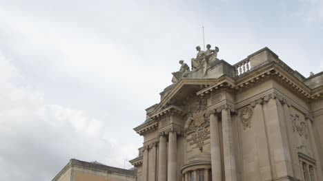 Tilting-Shot-of-Bristol-Museum-and-Art-Gallery-In-England