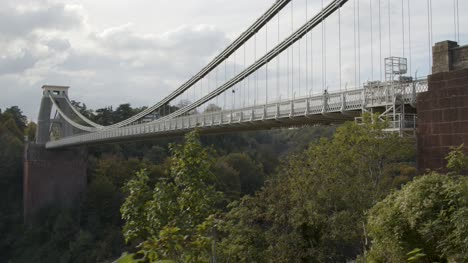Sliding-Shot-of-Clifton-Suspension-Bridge-In-Bristol-England