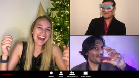 3-Way-Split-Screen-New-Years-Eve-Group-Video-Call-Amongst-Friends