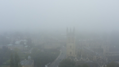 Drone-Shot-Orbiting-Misty-Oxford-Skyline-01