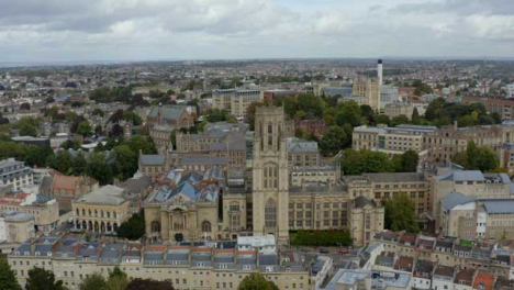 Drone-Shot-Approaching-Wills-Memorial-Building-01