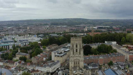 Drone-Shot-Orbiting-Bristol-City-Skyline-02