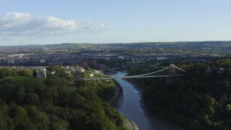 Drone-Shot-Orbiting-Clifton-Suspension-Bridge-01