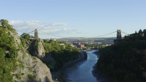 Drone-Shot-Pulling-Up-Clifton-Suspension-Bridge-02