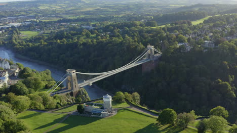 Drone-Shot-Orbiting-Clifton-Suspension-Bridge-08