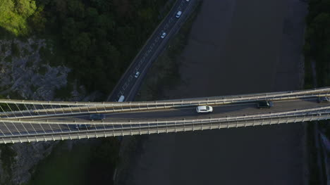 Drone-Shot-Pulling-Away-From-Clifton-Suspension-Bridge-03