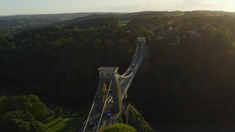 Drone-Shot-Pulling-Away-From-Clifton-Suspension-Bridge-04