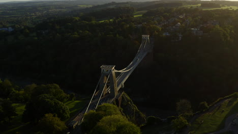 Drone-Shot-Orbiting-Clifton-Suspension-Bridge-15