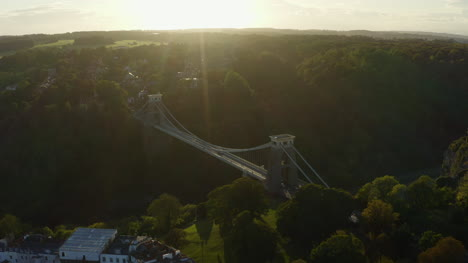 Drone-Shot-Orbiting-Clifton-Suspension-Bridge-16