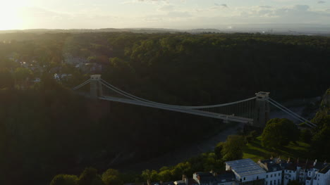Drone-Shot-Orbiting-Clifton-Suspension-Bridge-17