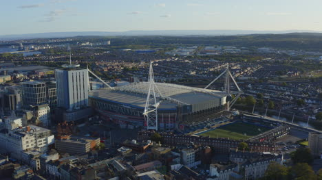 Drone-Shot-Orbiting-Principality-Stadium-04