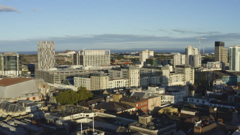Drone-Shot-Moving-Across-Cardiff-City-Skyline-01