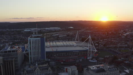 Drone-Shot-Orbiting-Principality-Stadium-09