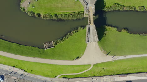 Drone-Shot-Passing-Over-Caerphilly-Castle-02