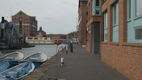 Tracking-Shot-Along-the-Industrial-Docks-In-Gloucester