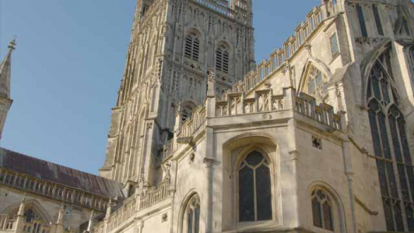 Tracking-Shot-Looking-Up-at-Gloucester-Cathedral-
