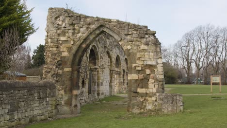 Tracking-Shot-of-St-Oswalds-Priory-Ruins