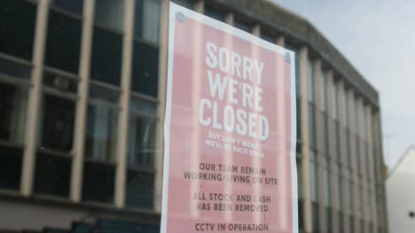Close-Up-Shot-of-Closure-Sign-In-Shop-Window-