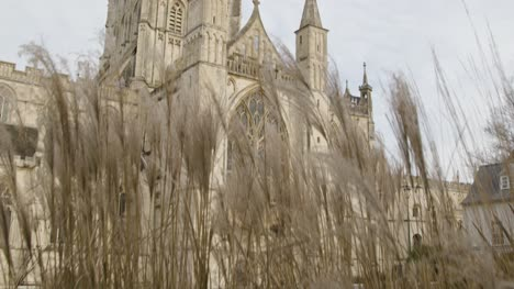 Tilting-Shot-Looking-Up-at-Gloucester-Cathedral