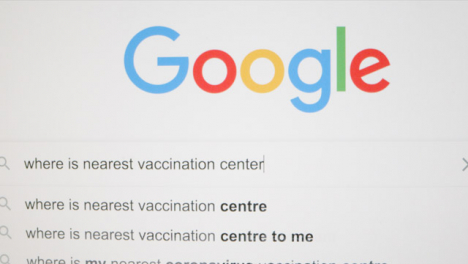Tracking-Out-Typing-Vaccination-Center-in-Google-Search-Bar