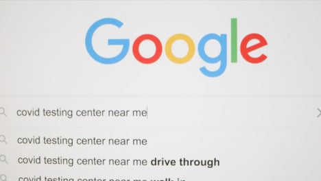 Tracking-Out-Typing-Covid-Testing-Center-in-Google-Search-Bar