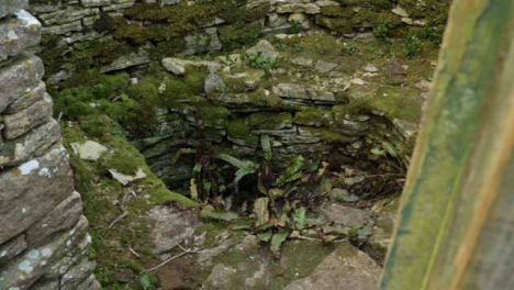 Sliding-Shot-of-Old-and-Disused-Well-