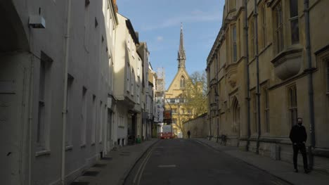 Tracking-Shot-Down-Street-Towards-Exeter-College-