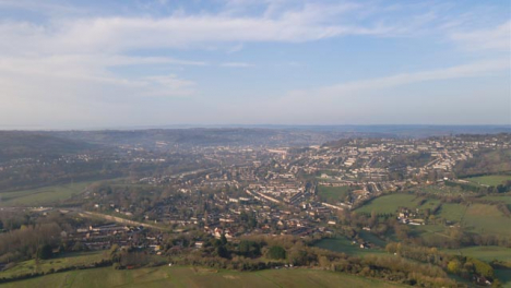 Drone-Shot-Rising-Up-and-Looking-Towards-City-of-Bath
