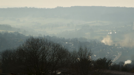 Long-Shot-of-Misty-Countryside-Hills-