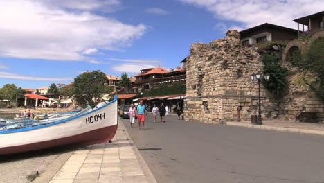 Nessebar-Bulgaria-waterfront-road-with-boats