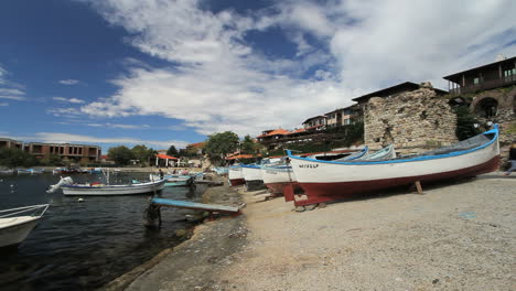 Nessebar-Bulgaria-waterfront-view-with-boats