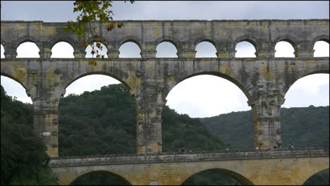 France-Pont-du-Gard-with-different-sized-arches