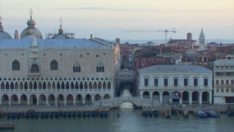 Venice-Italy-passing-the-Doges-Palace-and-Campanile