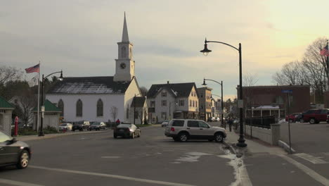 Newmarket-New-Hampshire-town-street