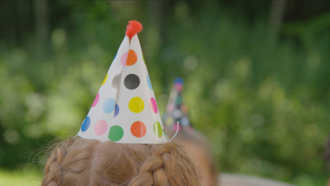 Close-Up-Shot-of-Party-Hat