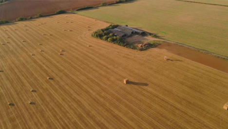 Drone-Shot-Panning-Up-Over-Some-Rural-Fields