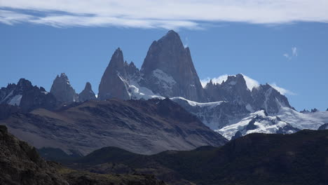 Argentina-Fitz-Roy-with-blue-sky